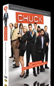 chuck DVD saison 5