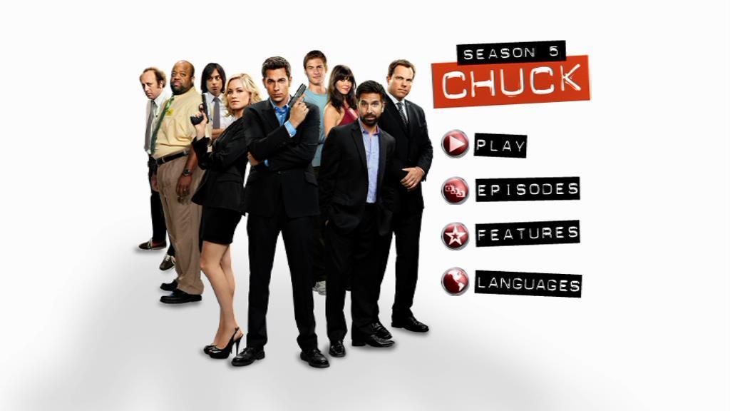 DVD Chuck home